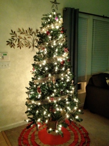 first tree of my very own :)