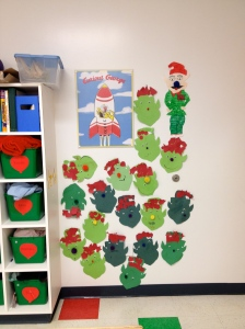 Elves and our other holiday friend- Iggles the Elf