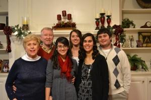 the grandkids with Grandma and Grandpa