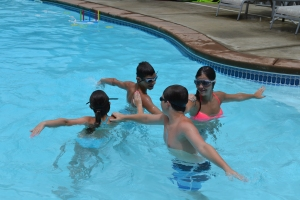 Dygestive ;) doing their synchronized swimming routine